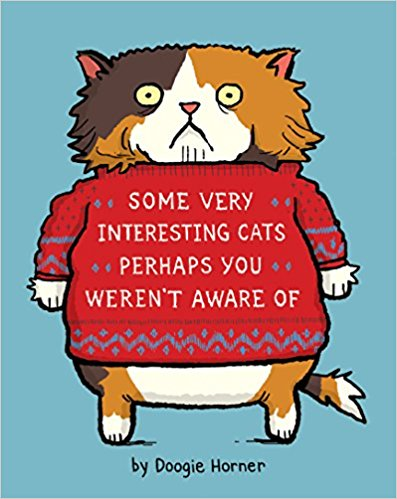 Some Very Interesting Cats Perhaps You Weren't Aware of - New Book - Stomping Grounds