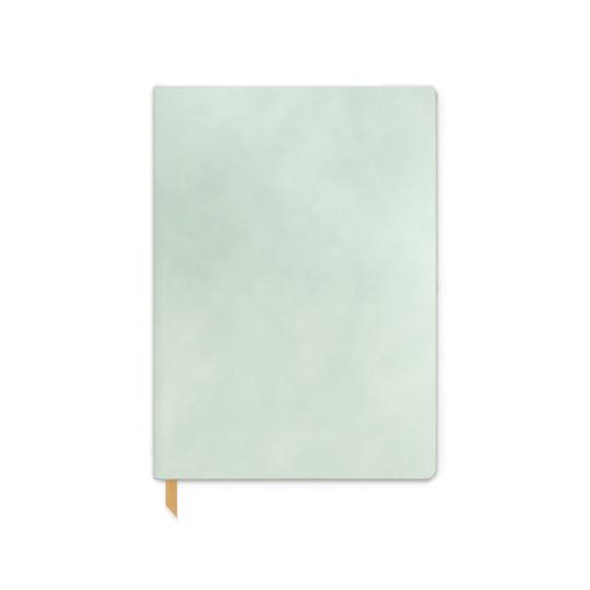 Vegan Suede Journal- Mint