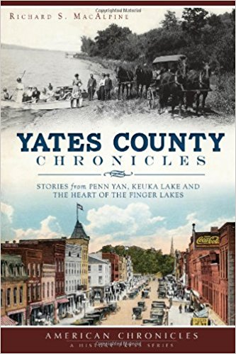 Yates County Chronicles - New Book - Stomping Grounds