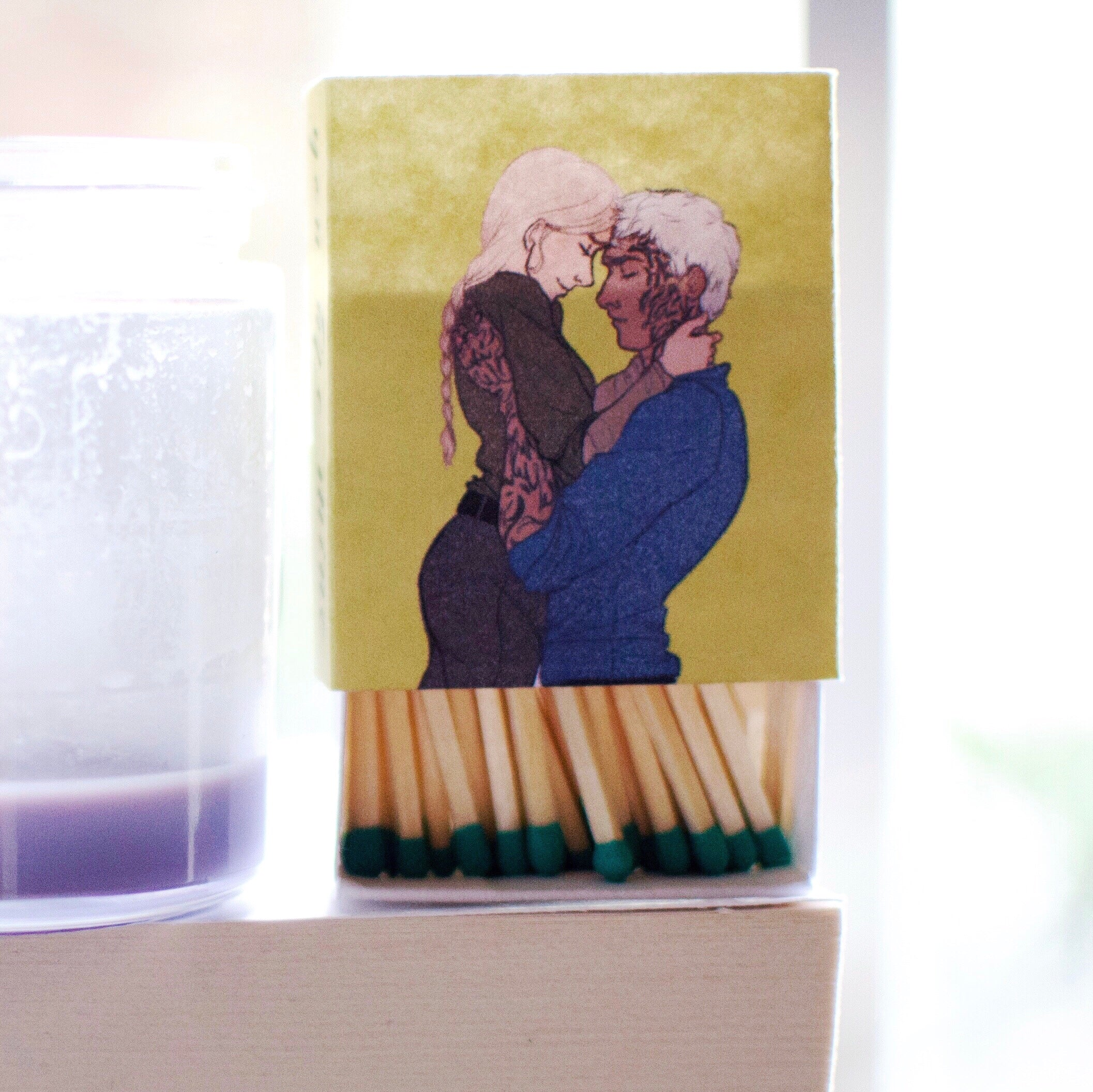 OTP Matchbox- Aelin and Rowan