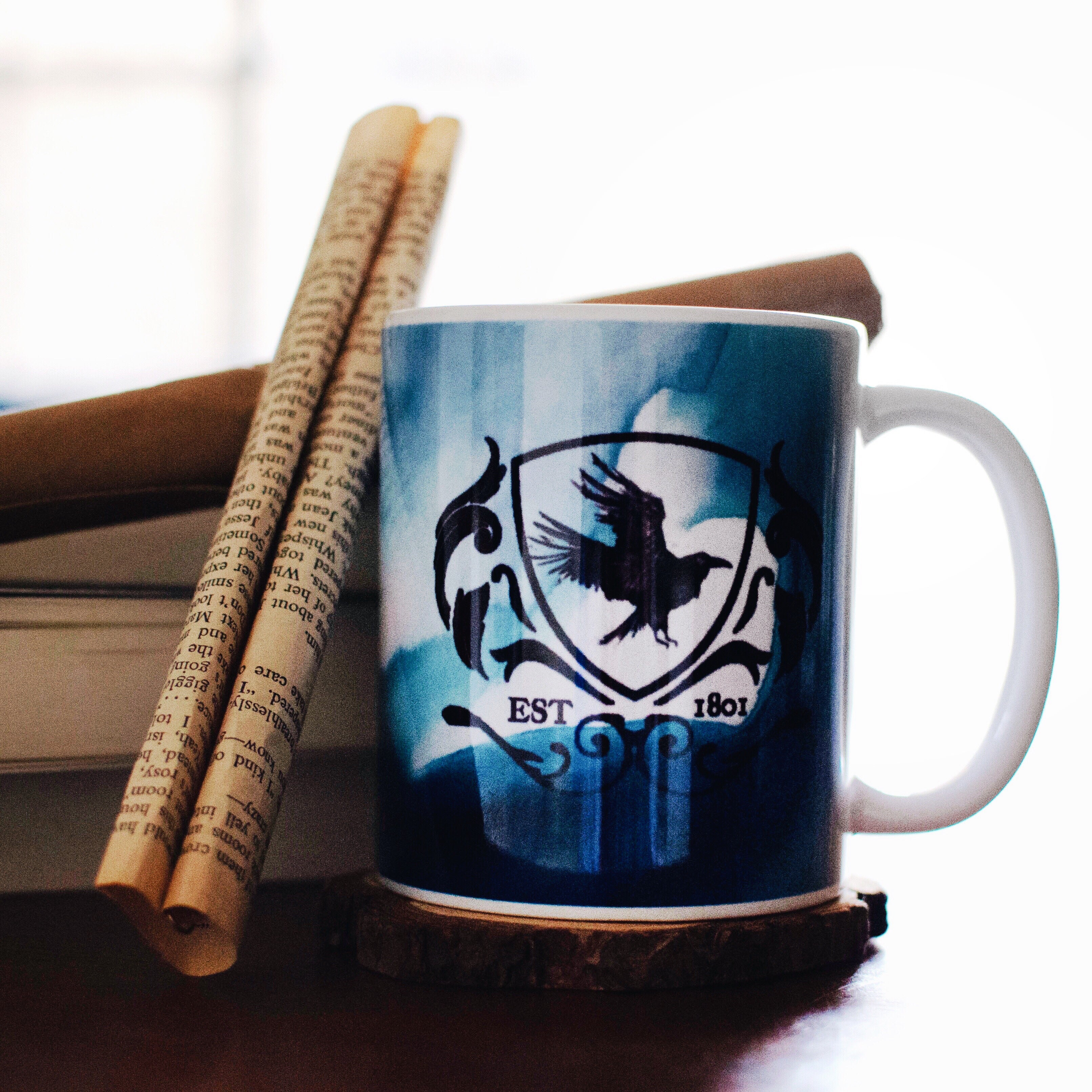 The Raven Cycles inspired mug