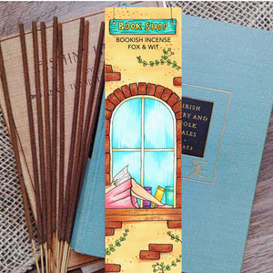 Bookish Incense- Book Shop