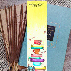 Bookish Incense- Book stack