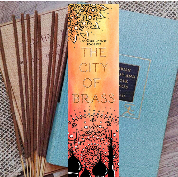 Bookish Incense- City of Brass