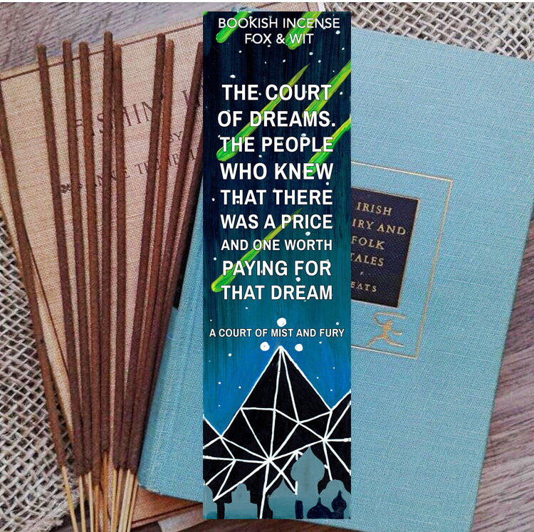 Bookish Incense- Court of Dreams, ACOMAF Series