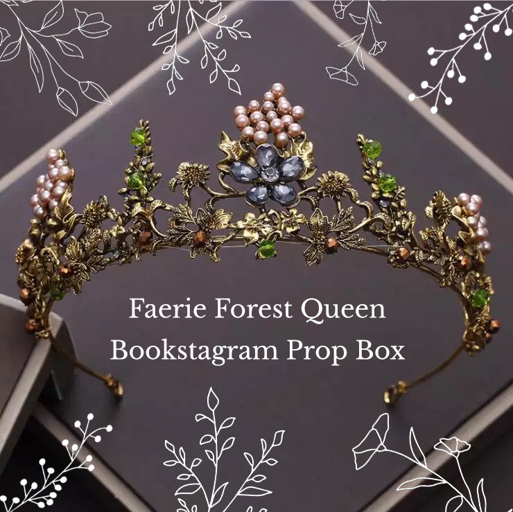 Faerie Forest Queen Bookstagram Prop box package
