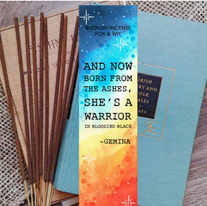 Bookish Incense- Illuminae series