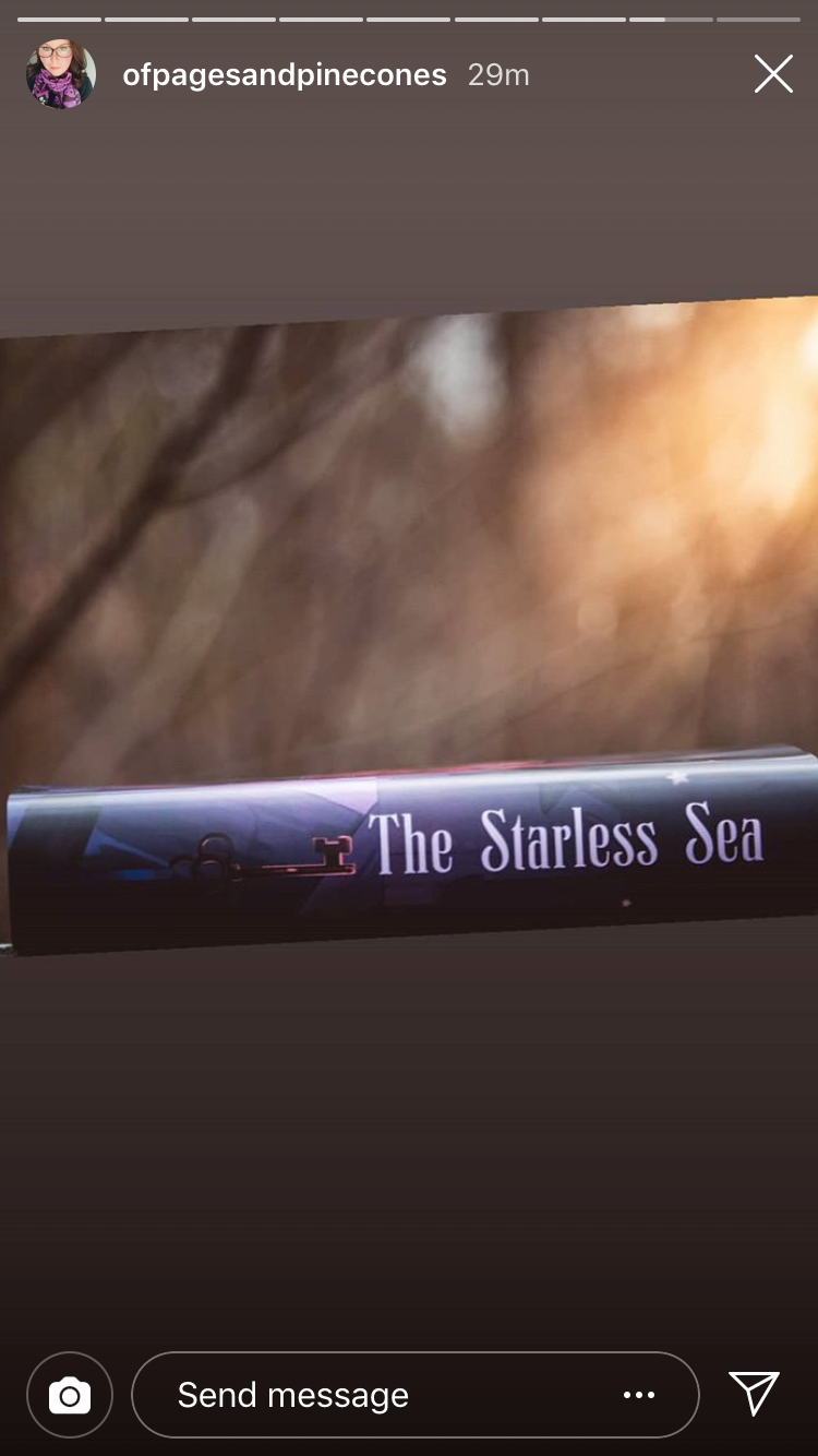 Starless Sea dust jacket
