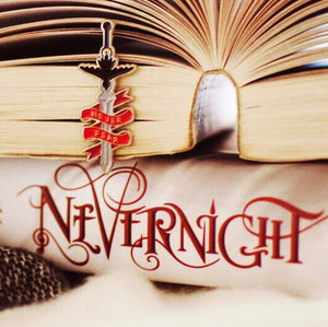 Enamel Pin- Blades in Literature, Nevernight
