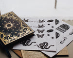 Witchy, Folk Bookish Stickers, Bullet Journal, BUJO Stickers, Reading Journal Stickers