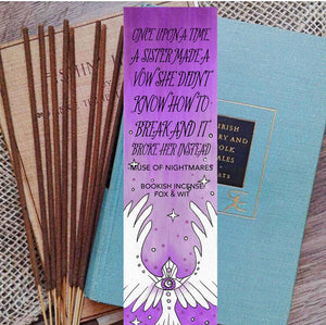 Bookish Incense- Muse of Nightmares