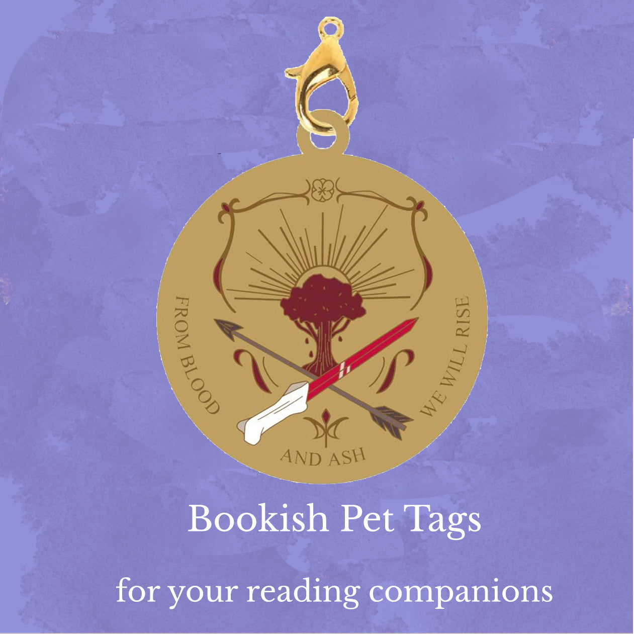 Pet Tag Charms: From Blood and Ash
