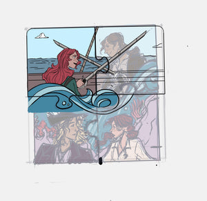 Collectable Fandom Puzzle Pin: Alosa, Daughter of the Pirate King Puzzle 1