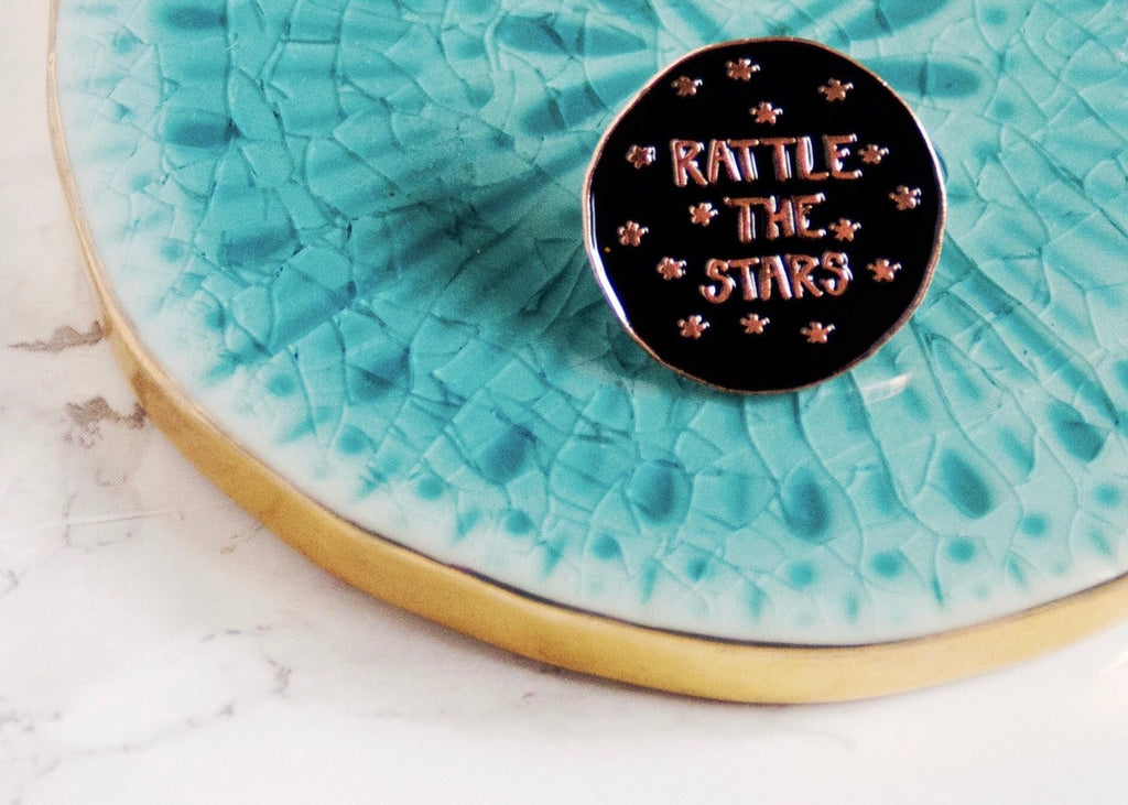 Enamel Pin- Rattle the Stars, TOG series