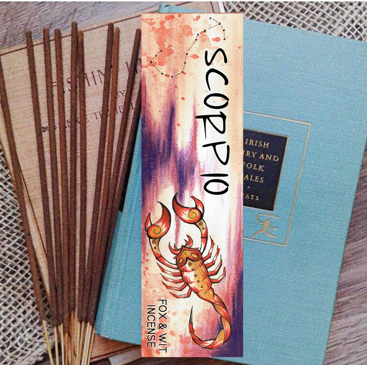 Incense- Scorpio, ASTROLOGY