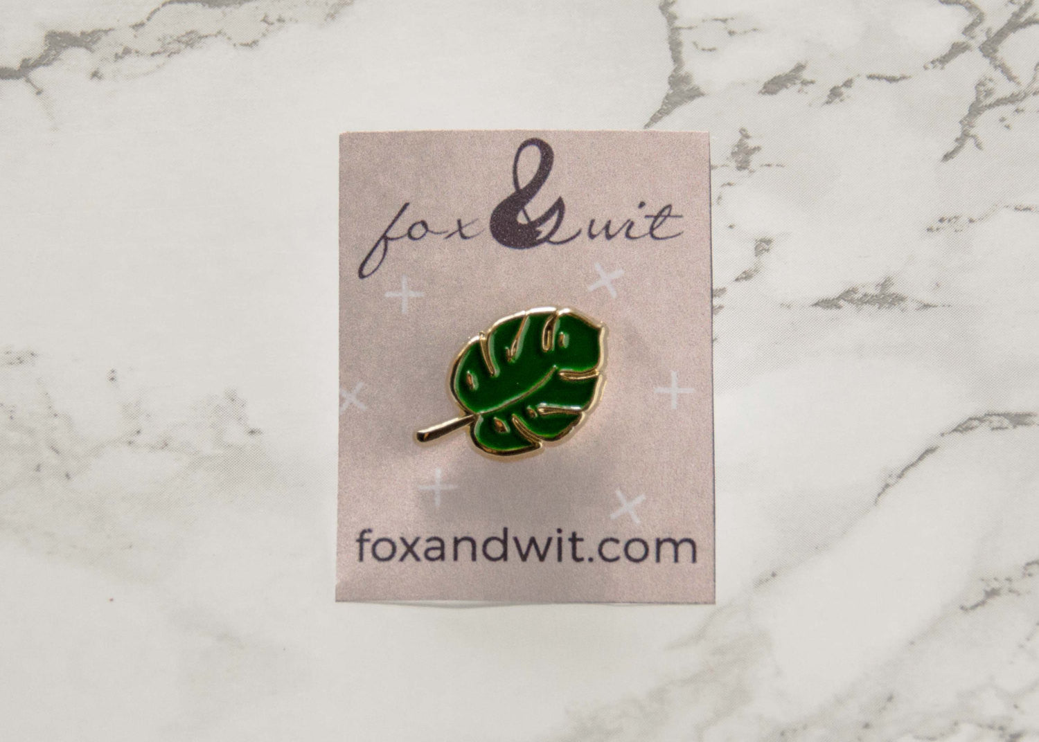 Enamel Pin- Palm Plant