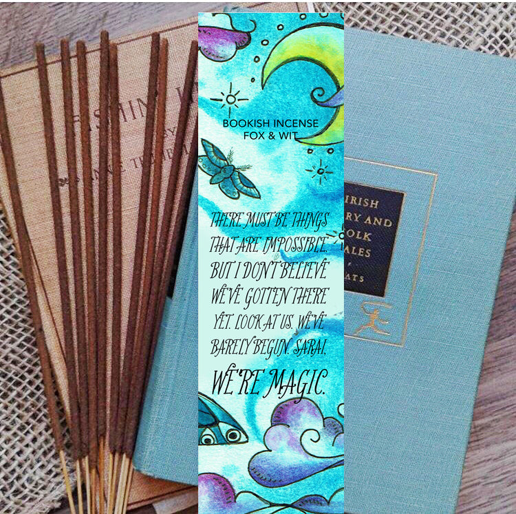 Bookish Incense- Strange the Dreamer, Sarai