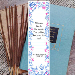Bookish Incense- To All The Boys I've Loved