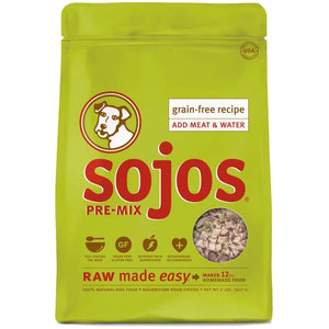 Sojos Pre-Mix Dog Fruits and Veggies