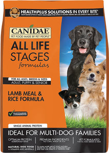 Canidae All Life Stages Dog Food - Lamb Meal & Rice