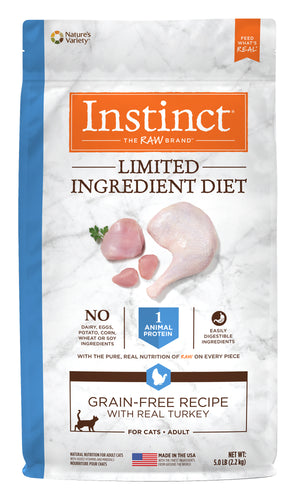 Nature's Variety Instinct Limited Ingredient Cat Food-Turkey