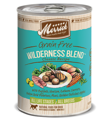 Merrick Wilderness Grain Free 13.2 oz Canned Dog Food
