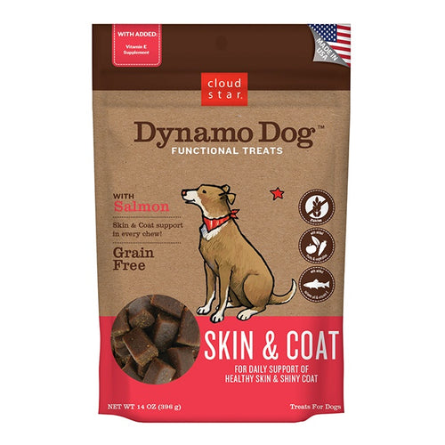 Dynamo Dog Skin and Coat Soft Chews
