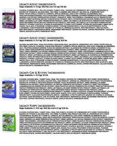 Horizon Legacy All Life Stages Fish Formula