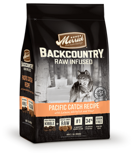 Merrick Backcountry Dog Food - Pacific Catch Recipe