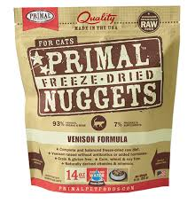 Primal Freeze Dried Cat Food - Venison