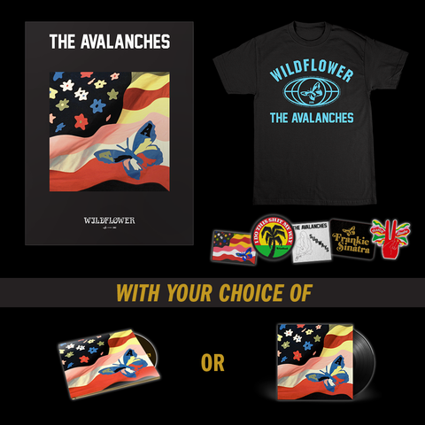 Wildflower T-Shirt + Patch Set + Poster + Music Bundle