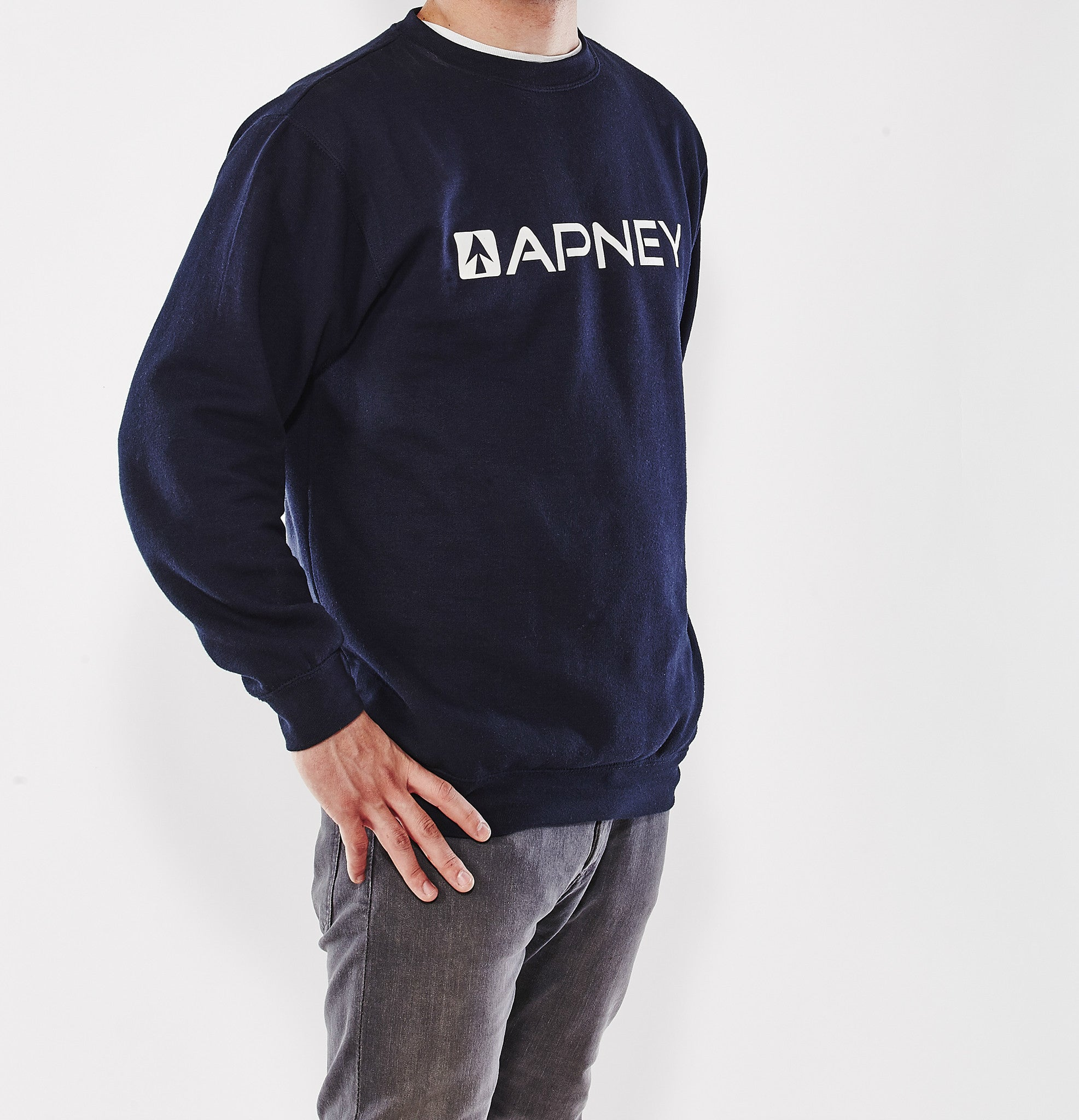 SUDADERA SIN CAPUCHA APNEY DARK BLUE