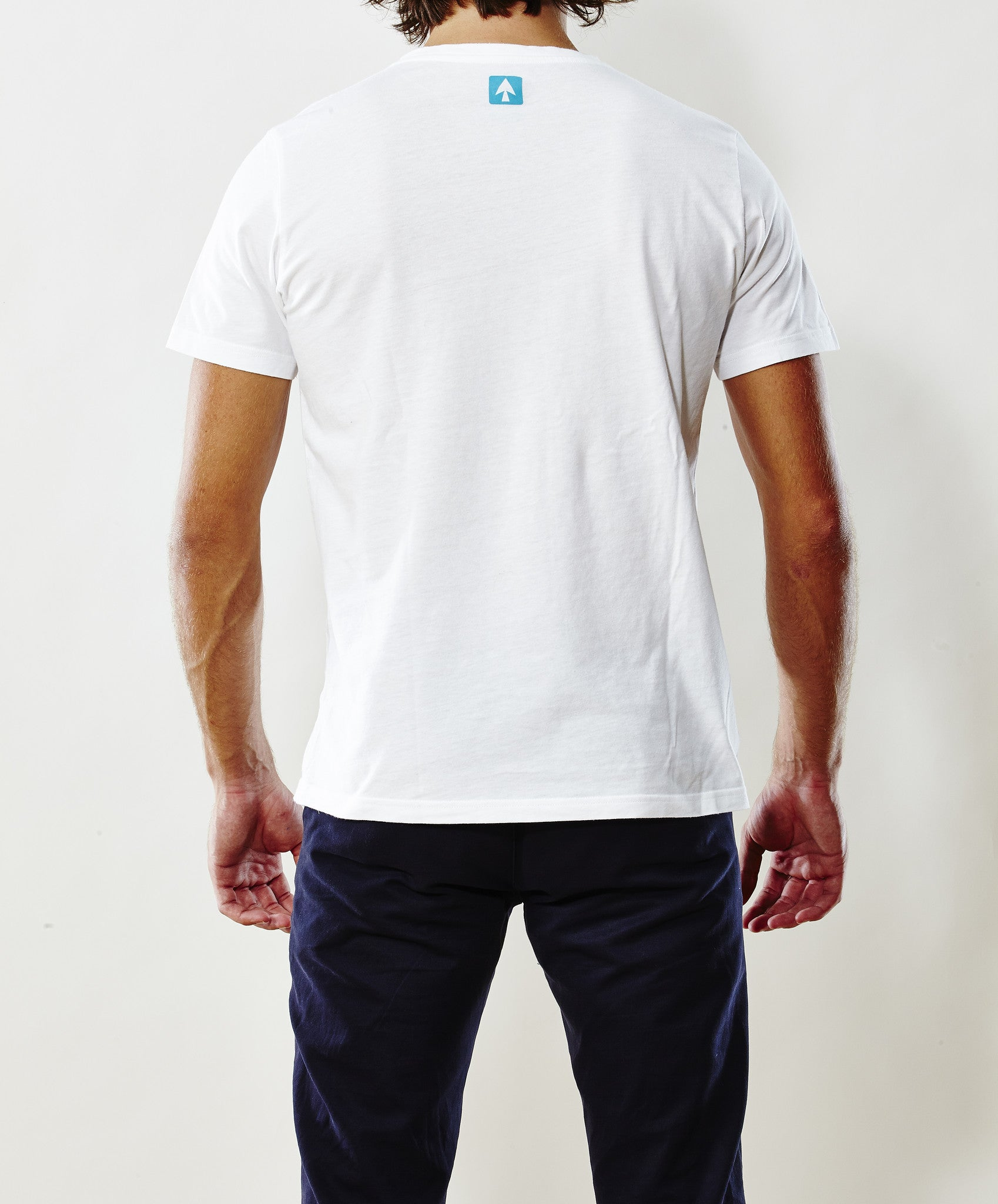 Apney Pocket White T-shirt