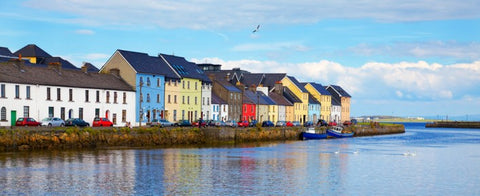 Claddagh neighbourhood in Galway