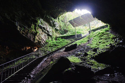Inside Dunmore Caves