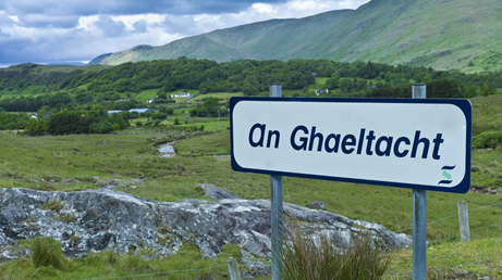 gaeltacht, west of ireland connemara on the wild atlantic way