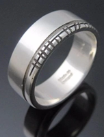 Ogham Ring by Arnua