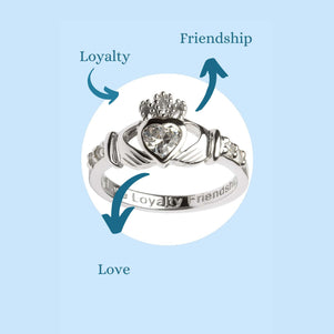meaning of a claddagh ring