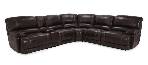 Banks Leather Sectional (Genuine Leather)