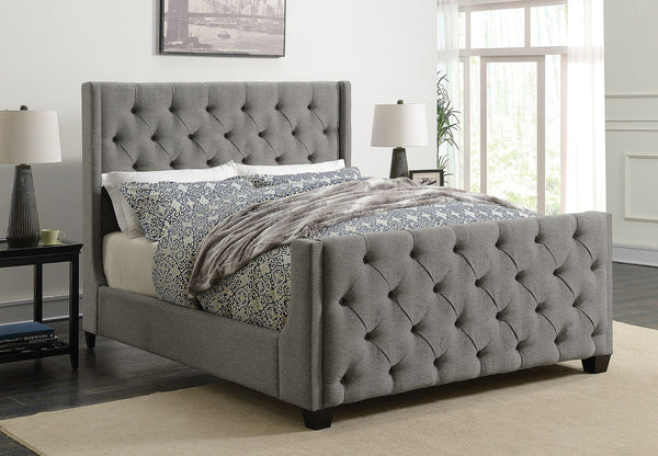 Demi Upholstered Bed (Sold in store only)