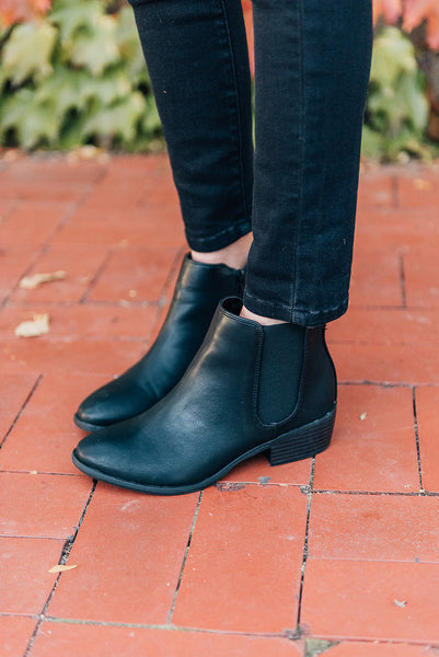 MIA Jimena Bootie in Black
