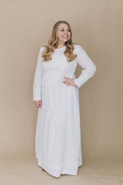 Always and Forever Pure White Maxi