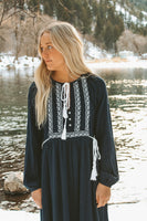 Cait Embroidered Dress