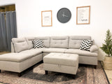 Olympia Sectional and Ottoman