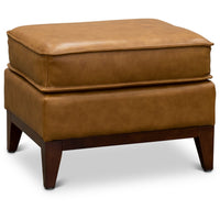 Camel Leather (Newport) Ottoman