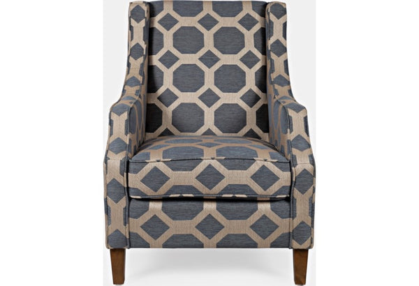 Sanders Grey Accent Chair