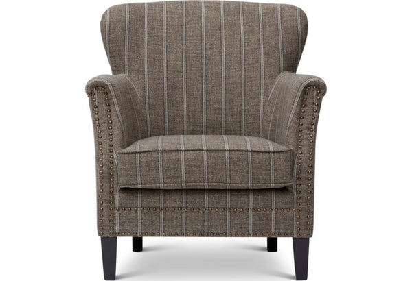 Layla Mocha Accent Chair