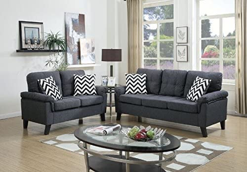 Greyson Sofa and Love Set