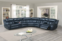 Big Blue Reclining Sectional