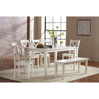 Paper White Dining Set